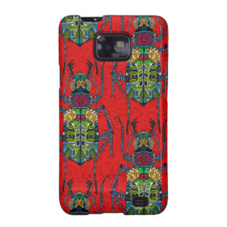 flower beetle red samsung galaxy s2 covers