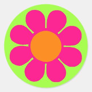 Flower power adhésif