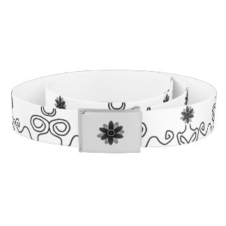 Flower power ceinture