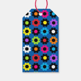 Flower power étiquettes-cadeau