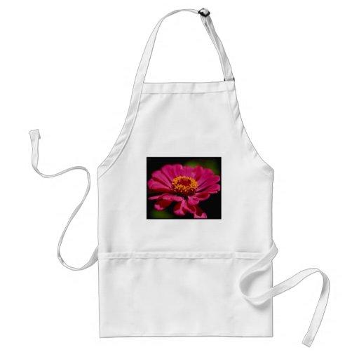 Flower power rose tablier