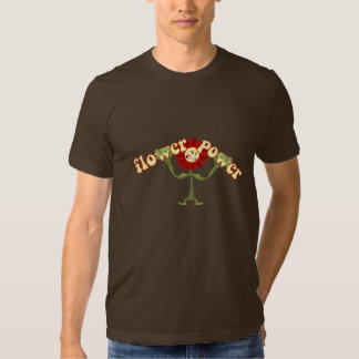 Flower power t-shirts