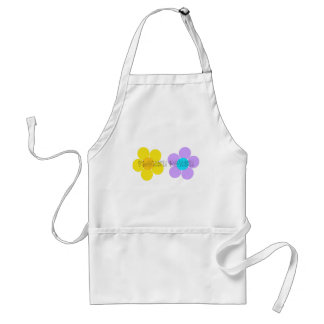 Flower power tablier