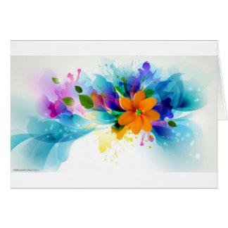 flowers.jpg lumineux carte de vœux