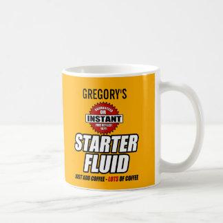 Fluide personnalisé drôle de démarreur mug