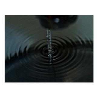 Fluidite de l'eau carte postale