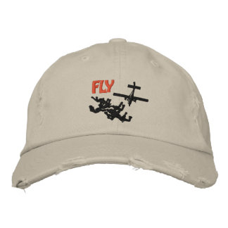 Fly Skydiving Casquette Brodée