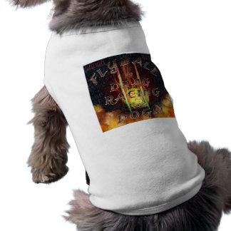 Flyball Flamz : Entrave emballant pour le chien ! T-shirt Pour Chien