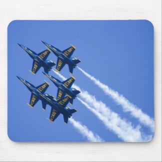Flyby d'anges bleus pendant la semaine de 2006 flo tapis de souris