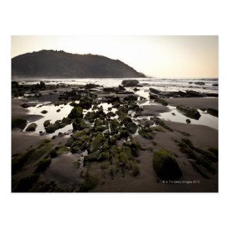 Flysch dans la côte de Deba, Guipuzcoa, Basque Cartes Postales
