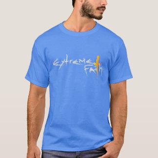 Foi extrême - spiritualité de chrétien de religion t-shirt