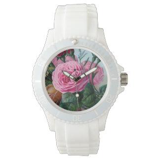 Foi florale vintage montres bracelet
