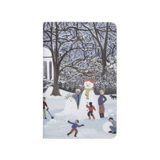 Folies de neige carnet de poche