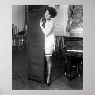 Folies fille, les années 1920 de Ziegfeld Posters