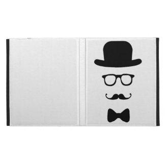Folio d iPad de Caseable de visage de hippie Coque iPad