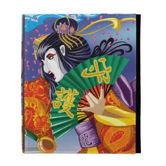 Folio d iPad de geisha Étuis iPad Folio