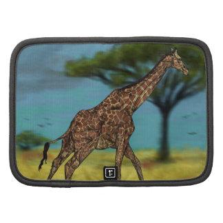 Folio de Rickshaw de girafe Agenda Folio