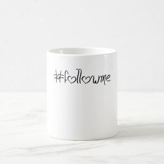#followme tasse pour geek