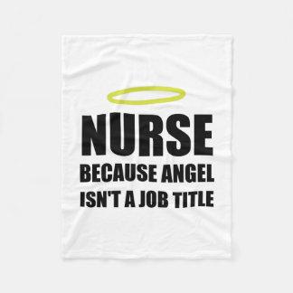 Fonction d'ange d'infirmière