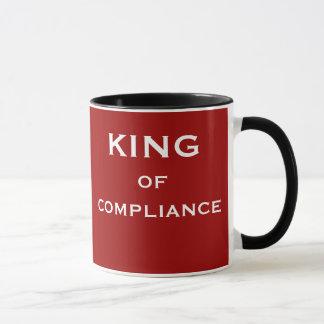 Fonction de conformité et nom drôles de patron mug