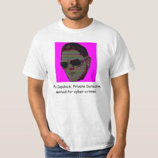 Fonction majuscule d'Elvis T-shirt