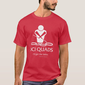 Fonctionnaire BACQ - QUADRUPLES de DCI - T-shirt