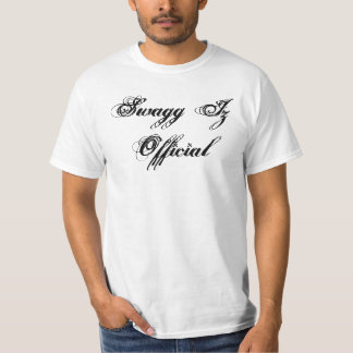 Fonctionnaire de Swagg Iz T-shirts