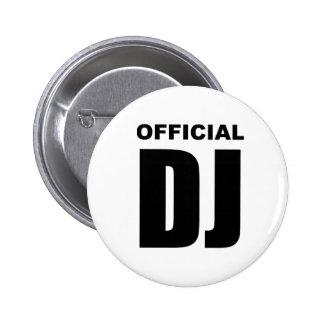 Fonctionnaire DJ Badge