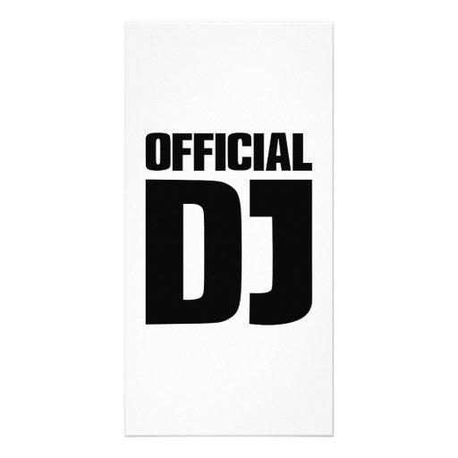 Fonctionnaire DJ Cartes Avec Photo