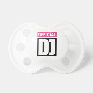 Fonctionnaire DJ Sucettes Pour Bébé