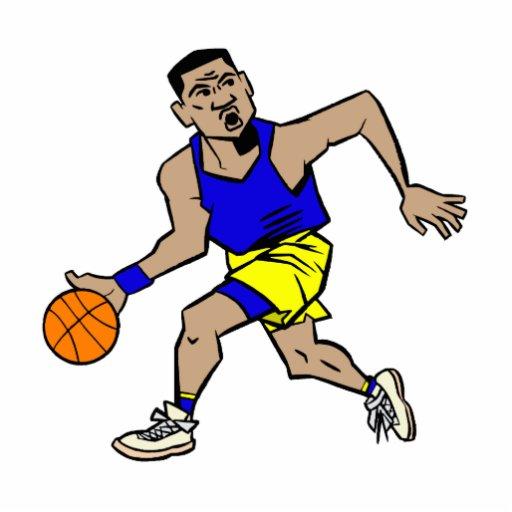 fonctionnement de joueur de basket photo sculpture