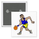 fonctionnement de joueur de basket pin's