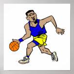 fonctionnement de joueur de basket posters