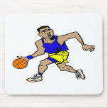fonctionnement de joueur de basket tapis de souris