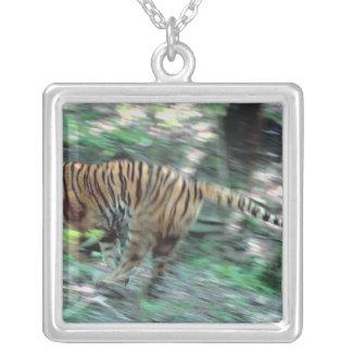 Fonctionnement de tigre pendentif carré