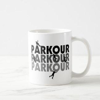 Fonctionnement libre de Parkour Mug