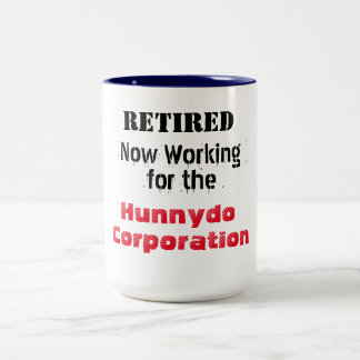 Fonctionnement retiré pour Hunnydo Corporation - Tasse 2 Couleurs
