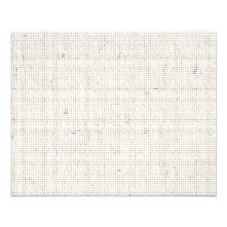 Fond de toile clair prospectus 11,4 cm x 14,2 cm