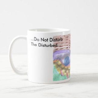 … Font pas DisturbThe perturbé…, Mug Blanc