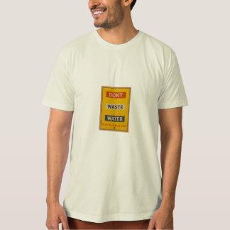 font pas les eaux usées t-shirt