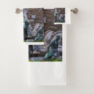 Fontaine de St de serviette de Neptune Florence
