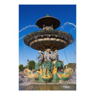 Fontaine donne Fleuves Photo Sur Toile