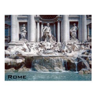 Fontaine Rome de TREVI Carte Postale
