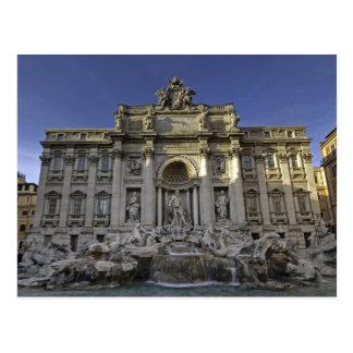 Fontana di Trevi Postcard Carte Postale
