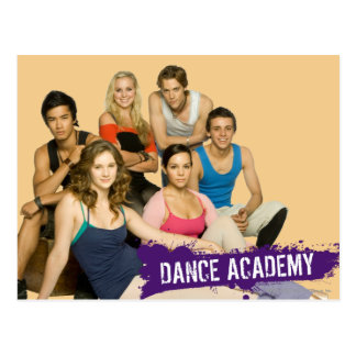 Fonte d'académie de danse carte postale