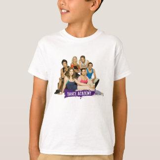 Fonte d'académie de danse t-shirt
