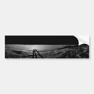 Fonte d'ombre des astronautes d'Apollo 12 sur la Autocollant Pour Voiture