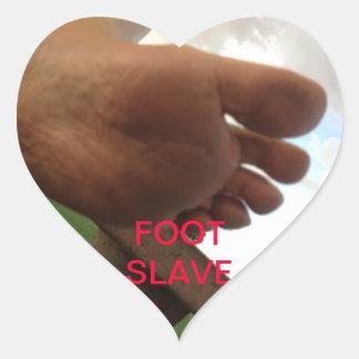 FOOT SLAVE STICKER