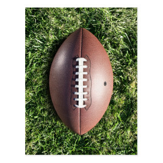 Football américain sur l'herbe cartes postales