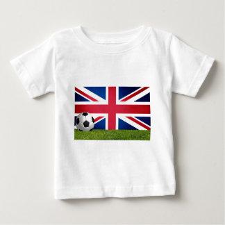 Football de l'Angleterre - le football T-shirt Pour Bébé